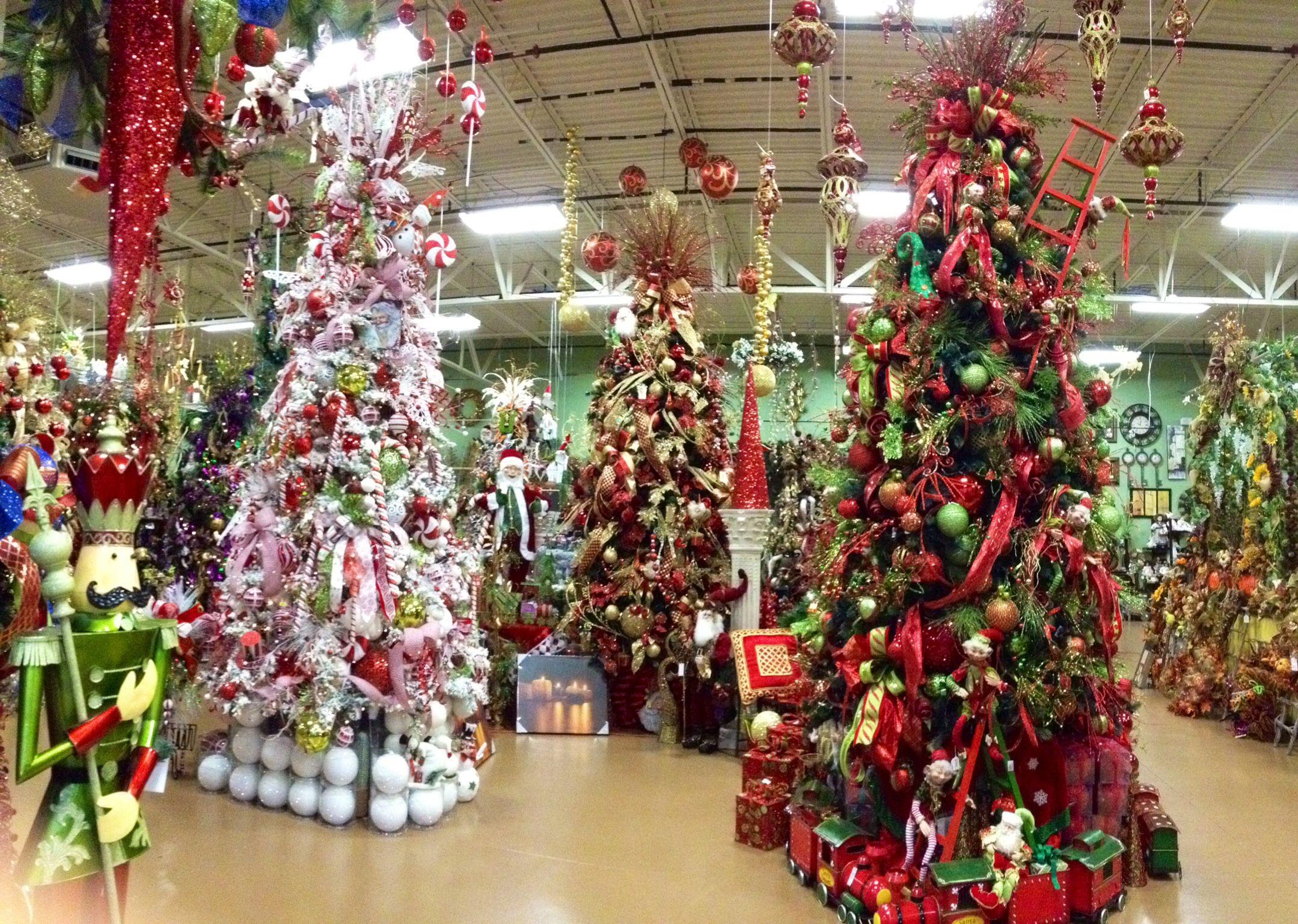 #Christmas At Arcadia Floral & Home Decor Showroom Christmas Tree