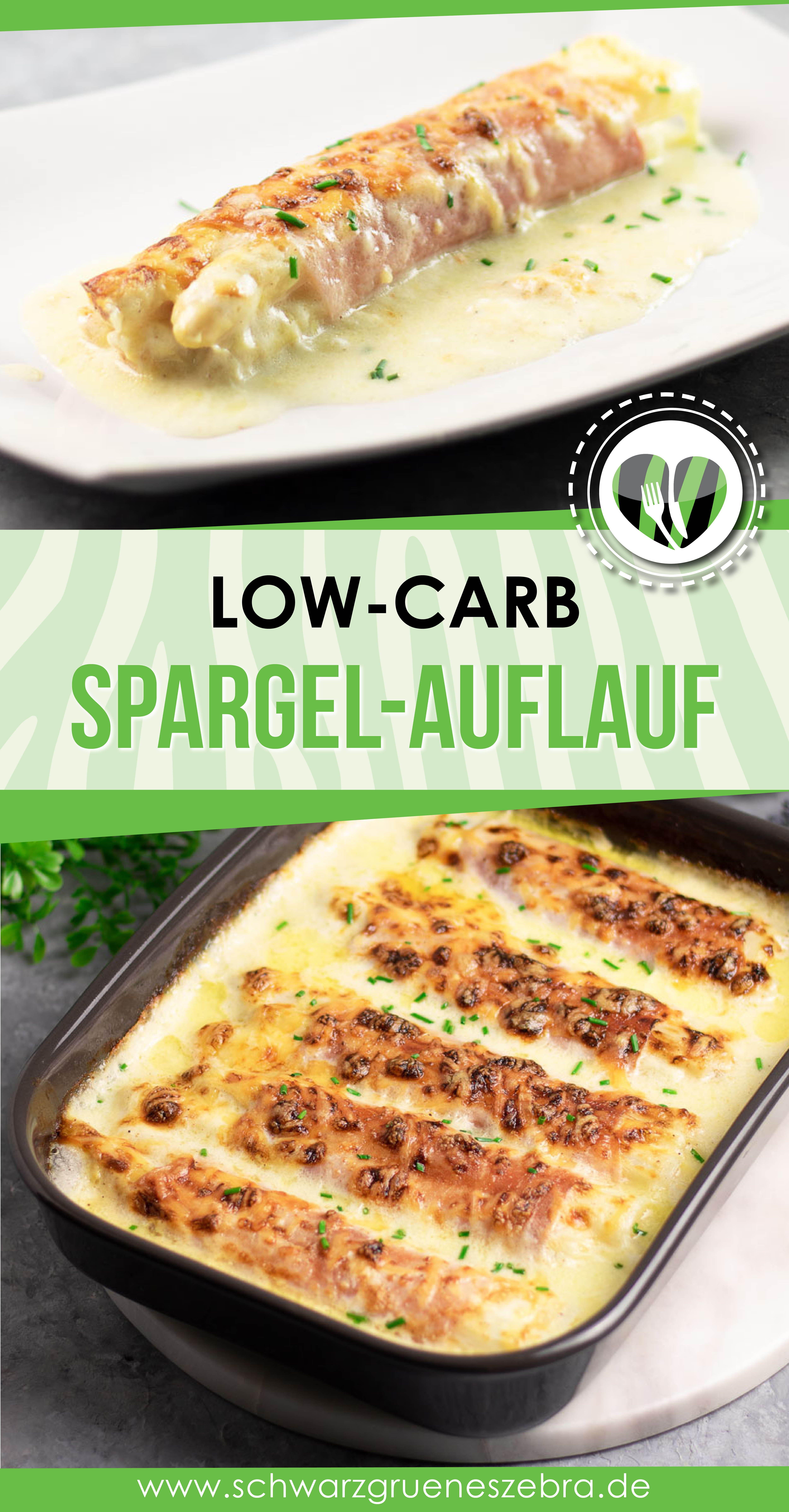 Spargel-Auflauf mit gekochtem Schinken | Schwarzgrueneszebra.de