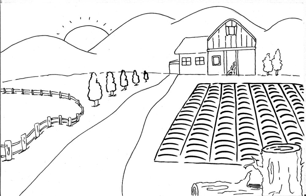Dibujo De Una Ciudad Donde Aparezca Una Plaza De Mercado Casas Y Campesinos Cultivando Para Ninos Busqueda De Google Campesinos Apareciste Tu Ciudades