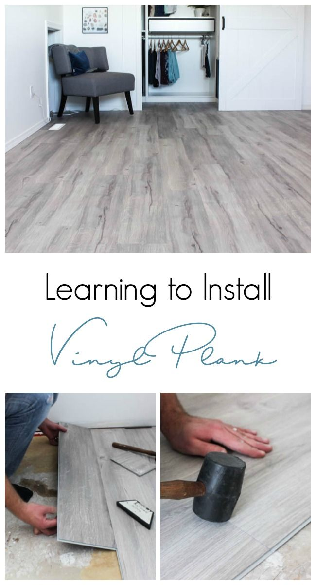 Transforming A Space By Installing Vinyl Plank Flooring Basement
