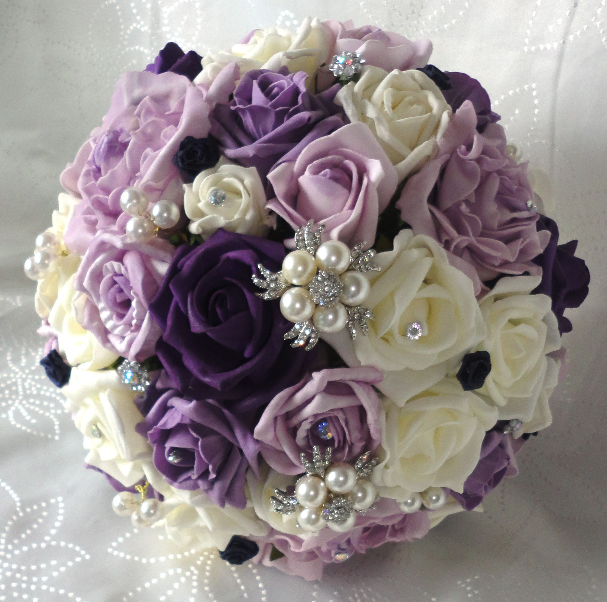 The Floral Touch Uk Silk Wedding Flowers Silk Bouquets