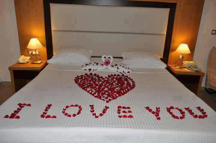 Amazing Idea Love It When My Husband Covers The Bed In Rose