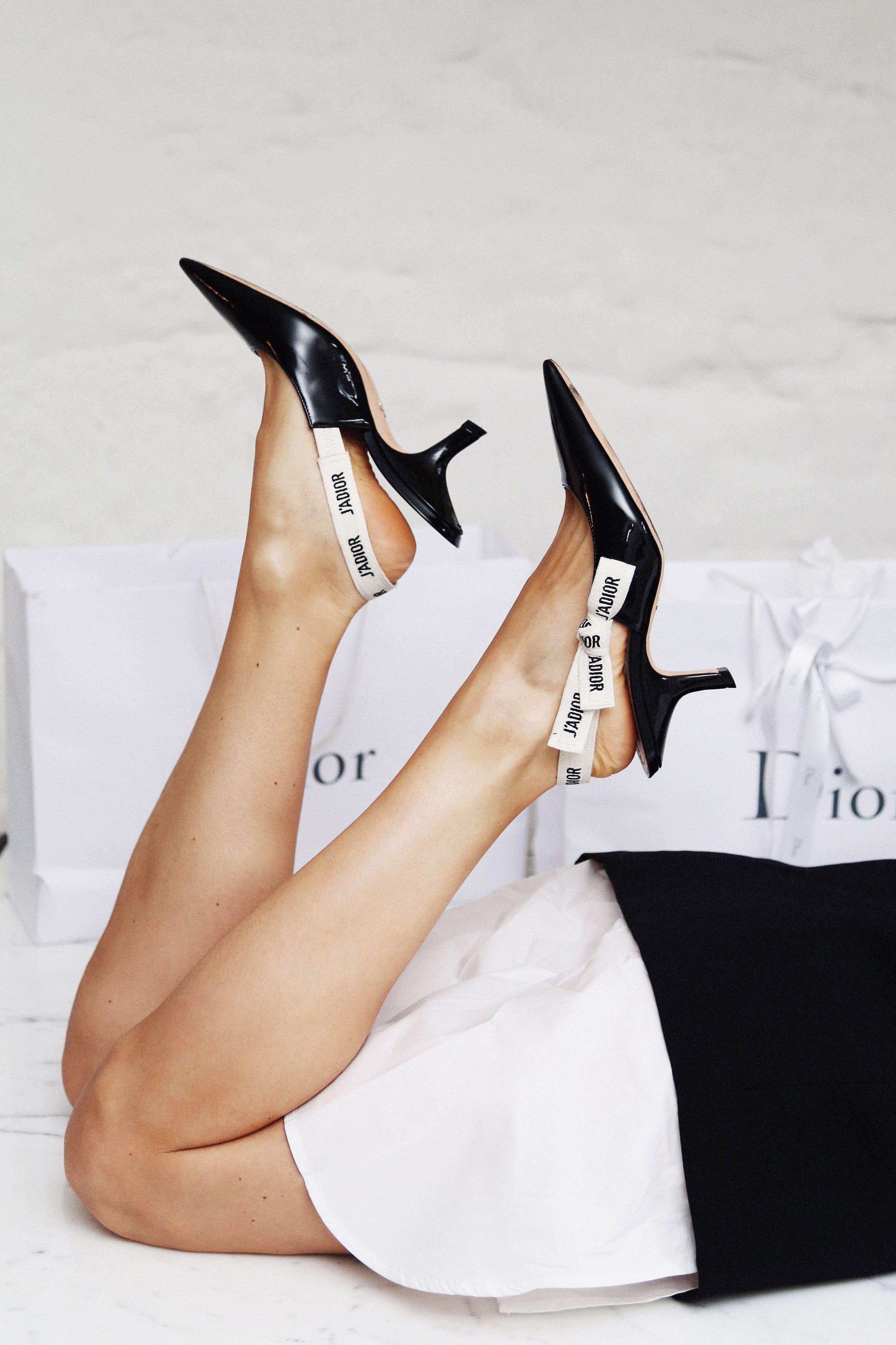 bc6b1002630 Christian Dior  J ADIOR  kitten heel pumps (5 inch and up)