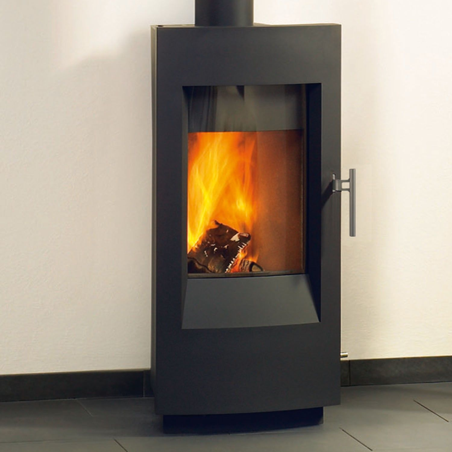 Tula 8190 wood stove in charcoal, by Hearthstone. Heats up to 1200 sq. - Tula 8190 Wood Stove In Charcoal, By Hearthstone. Heats Up To 1200
