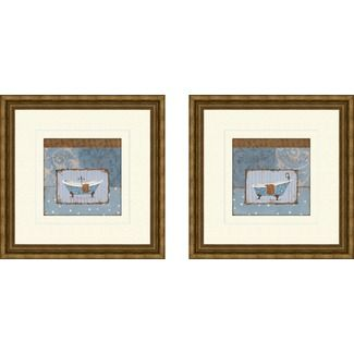 Pro Tour Memorabilia Bath Le Bain Framed Art (Set of 2) - 1-6868