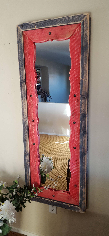 Home Decor Mirror - Southwestern Floor or Wall Mirror by ...