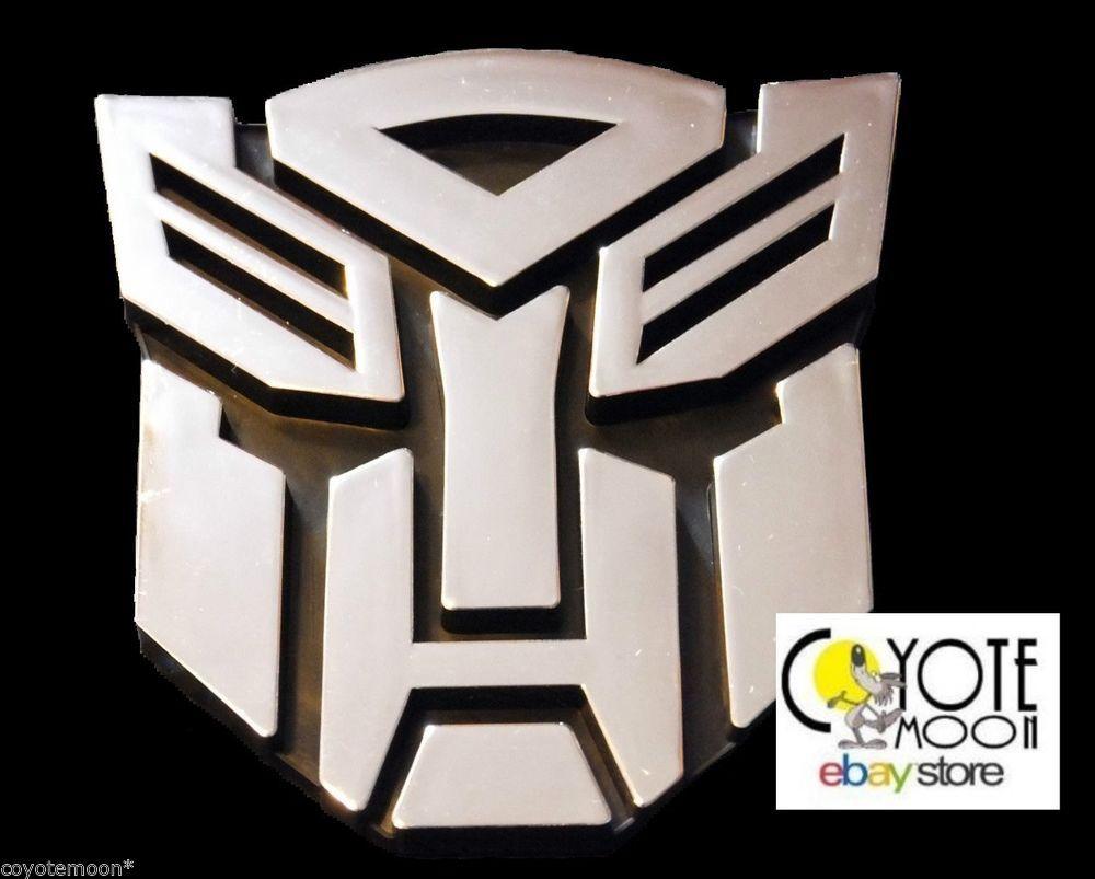 Transformers Autobot 3d Logo Emblem Badge Decal Car Sticker Optimus