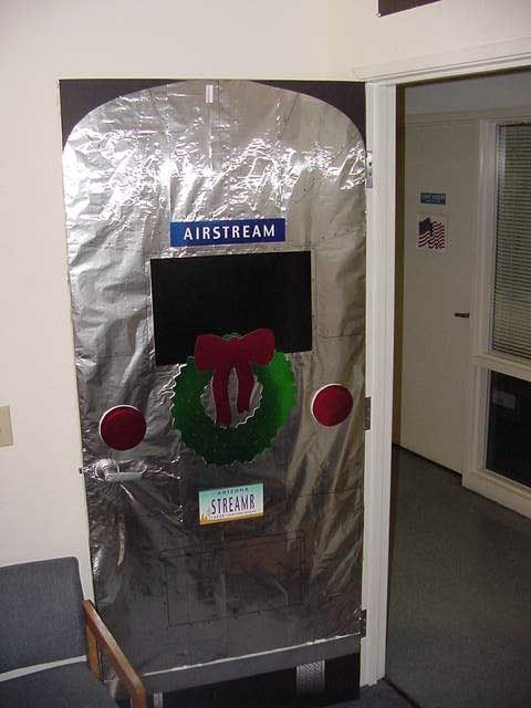 Door Decorating Contest for Christmas at the Office  Office door