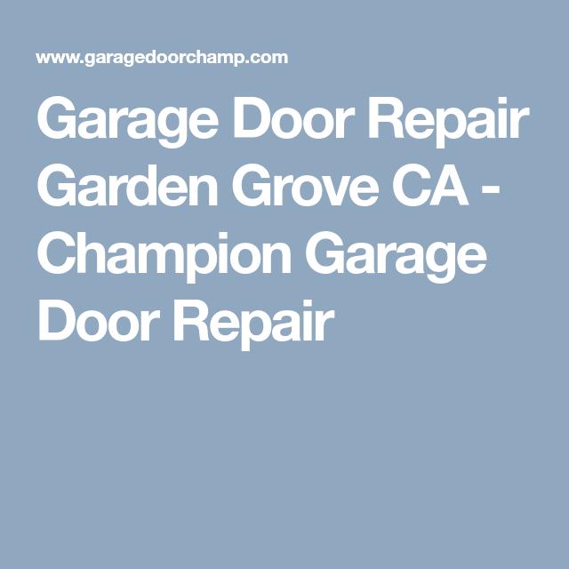 Food · Garage Door ...