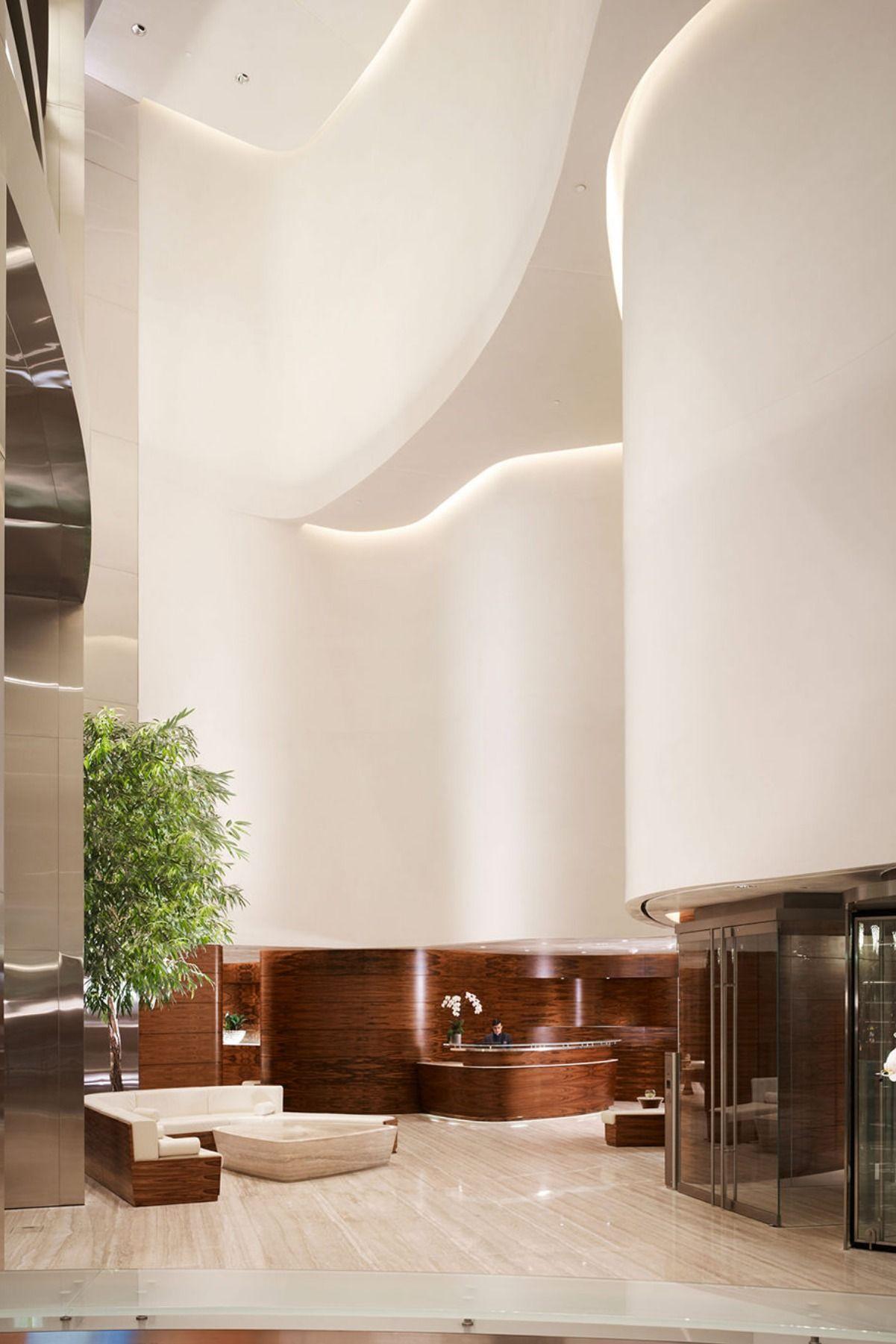 Open Area Hotel Lobby Is A True Modern Interior Design Inspiration