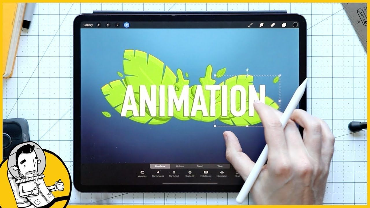 How to Animate in Procreate Create a Cute GIF of a Tea