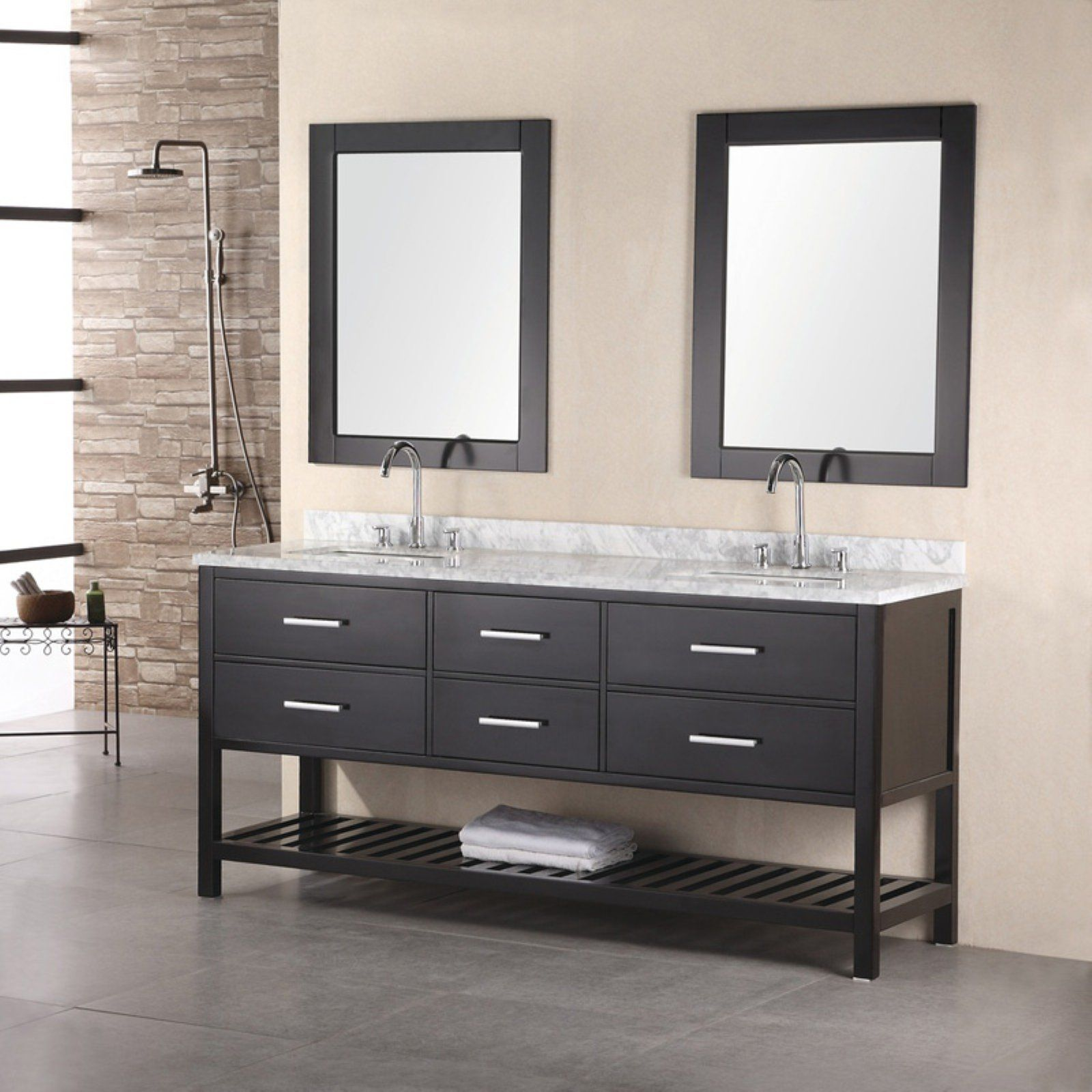 43++ Espresso free standing bathroom cabinets type