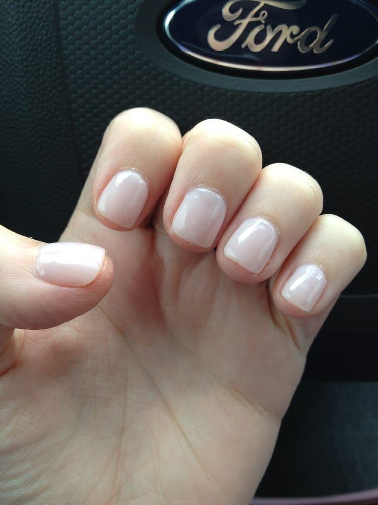 Acrylic Overlay Yelp Natural Looking Acrylic Nails Natural Acrylic Nails Short Acrylic Nails