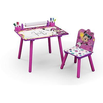 Prime Kids Art Desk Minnie Mouse Table Chair Set Activity Toddler Alphanode Cool Chair Designs And Ideas Alphanodeonline