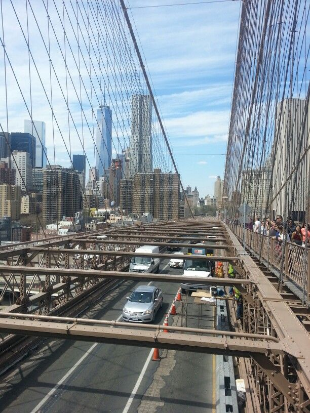 Brooklyn Bridge. NYC. April 2015.