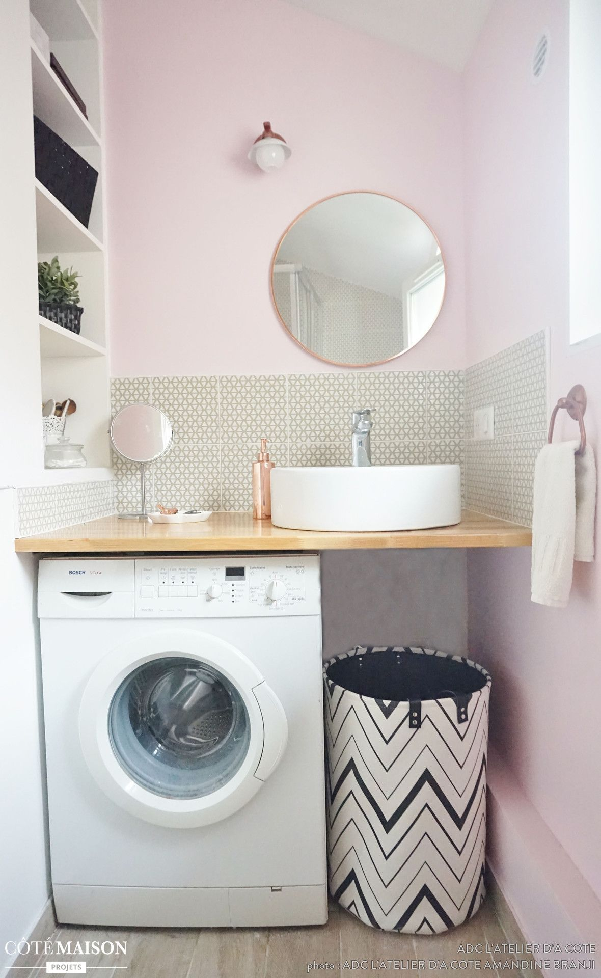 Pin by Basia on Łazienka | Pinterest | Laundry, Small bathroom and ...