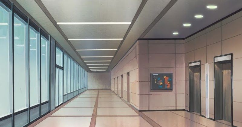 Hall (Anime Background)