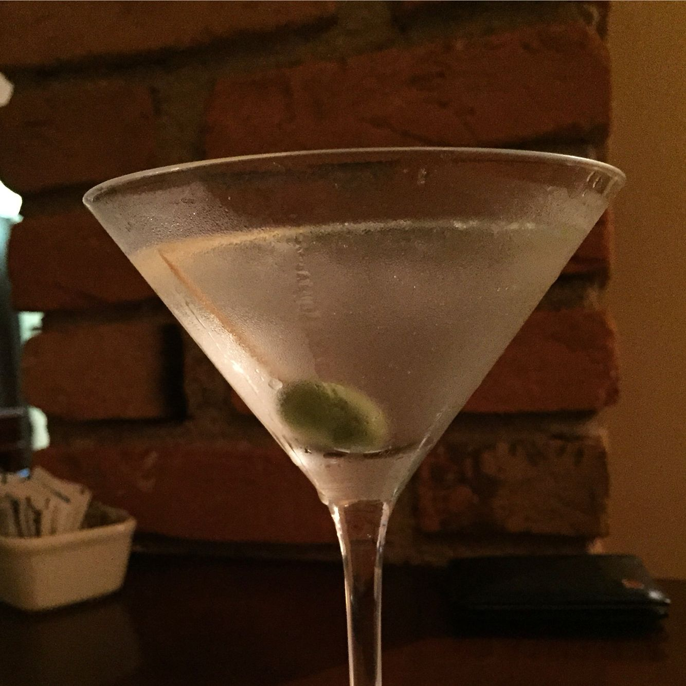 Dry Martini do Flor de Sal