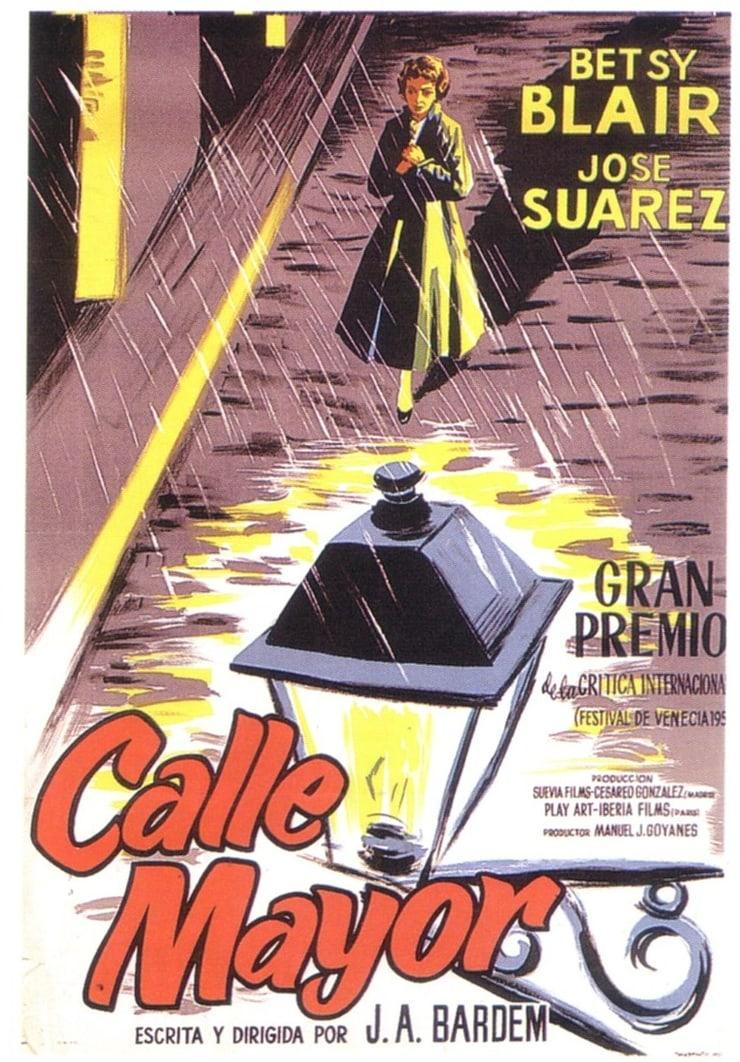 Main Street 1956 Spain Dir Juan Bardem Cinema Posters Original Movie Posters Street Pictures