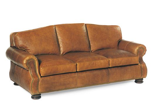 September Sofa By Hancock U0026 Moore, Full Grain Leather With Down Cushions.
