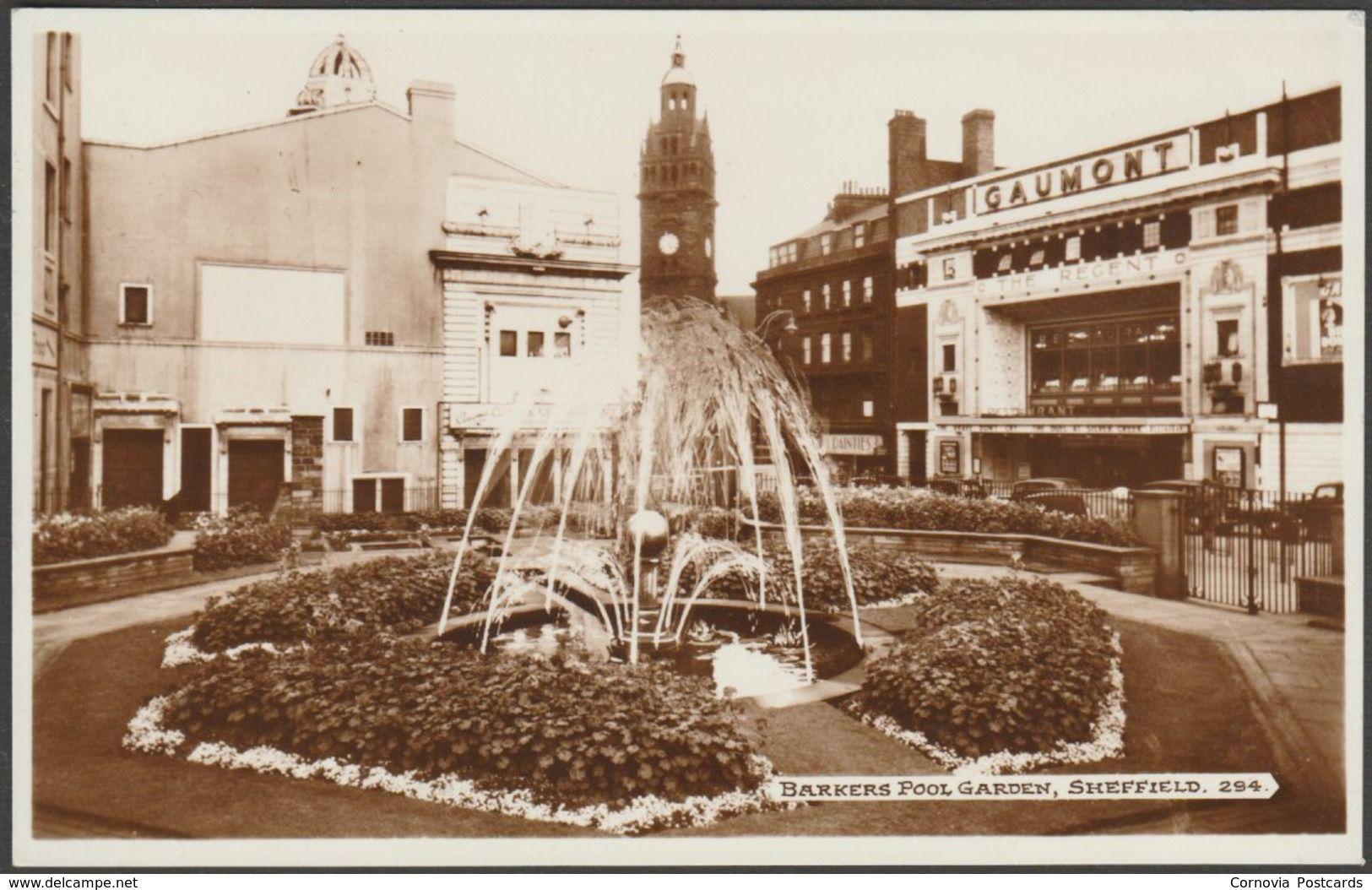 Barkers Pool Gardens, Sheffield, Yorkshire, c.1950 - Bamforth RP ...