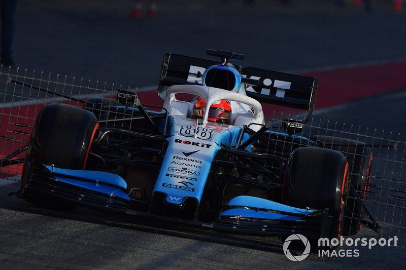 Robert Kubica Williams Fw42 With Aero Sensors F1 2019