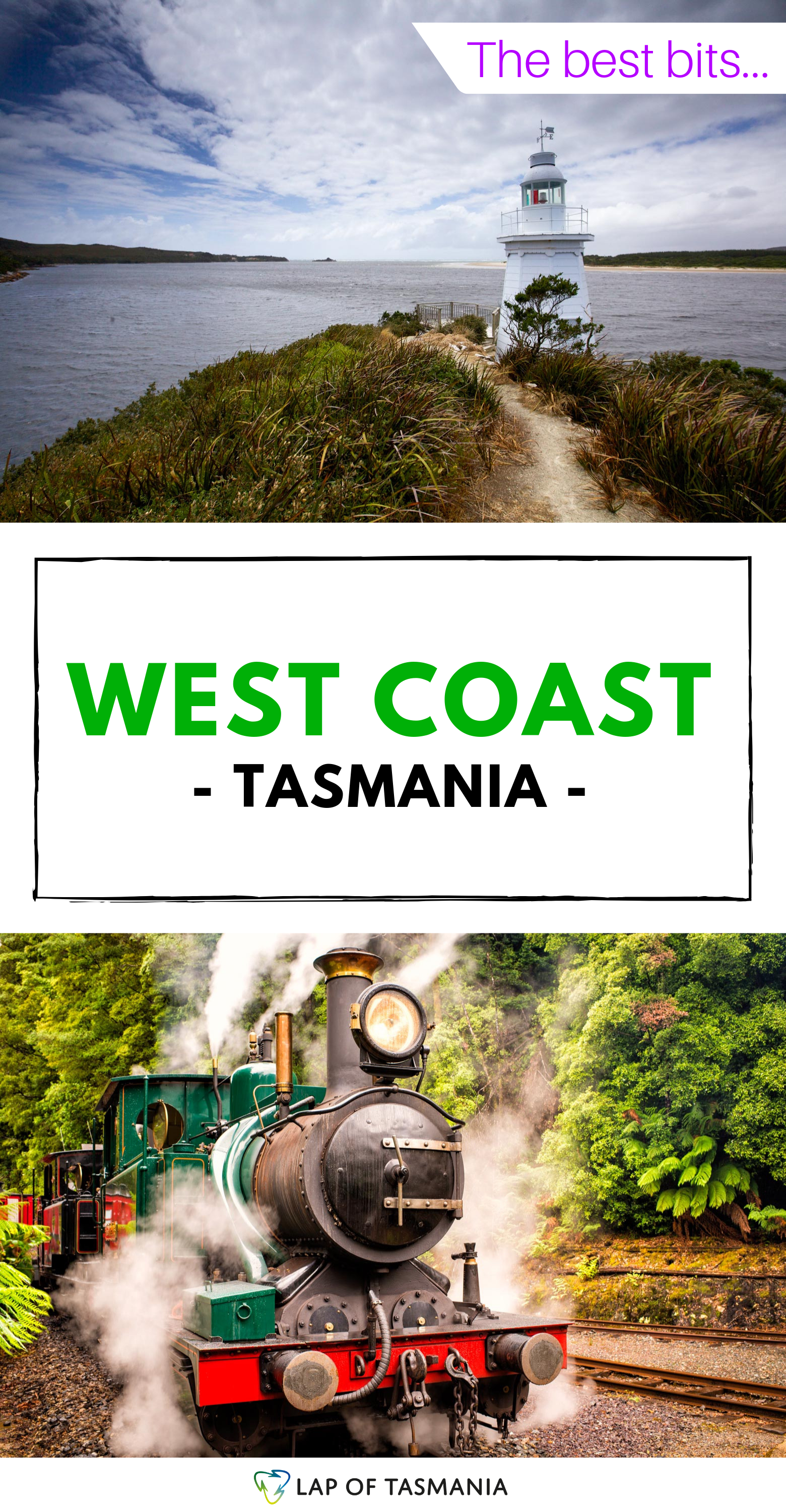 West Coast Wilds (Tasmania) - Things to See and Do #westcoastroadtrip