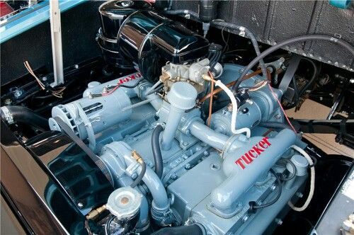 1948 Tucker Water Cooled Flat Opposed 6 Cylinder Rear Engine