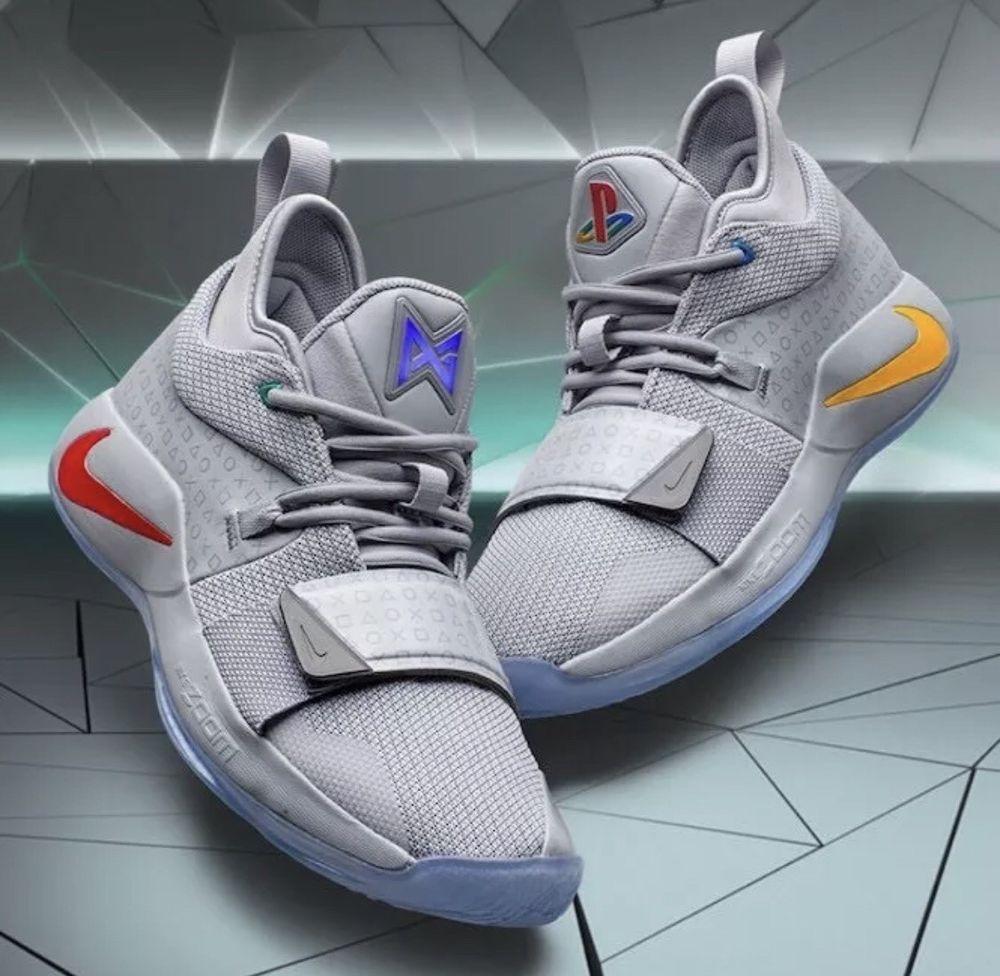 Nike PG 2.5 PlayStation Wolf Grey Size