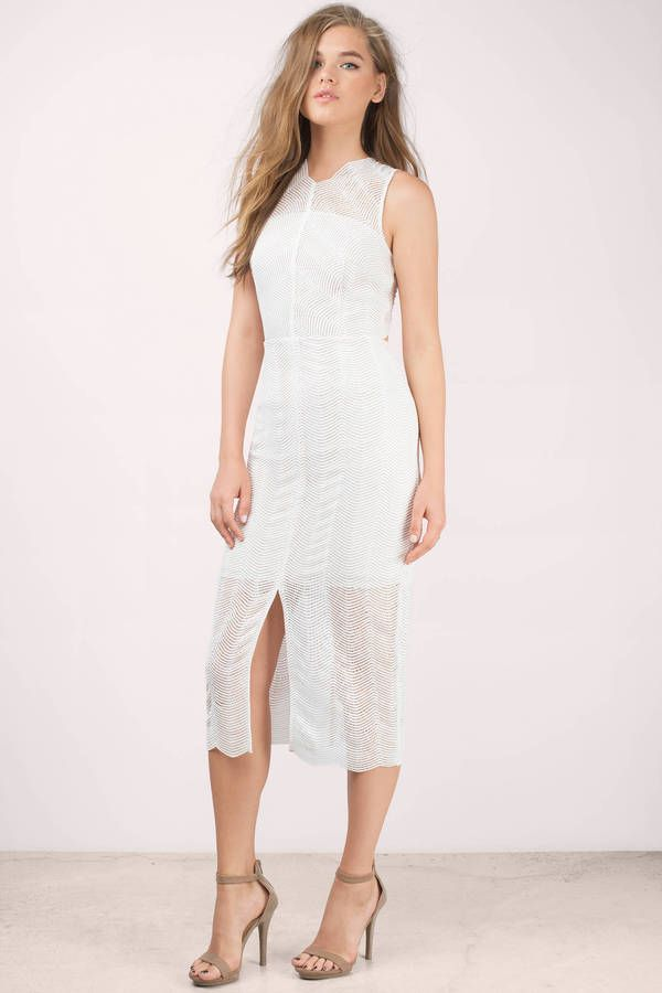6921c9c162 White dress with amazing and beautful lace detals. Wear with heels for a  day out.