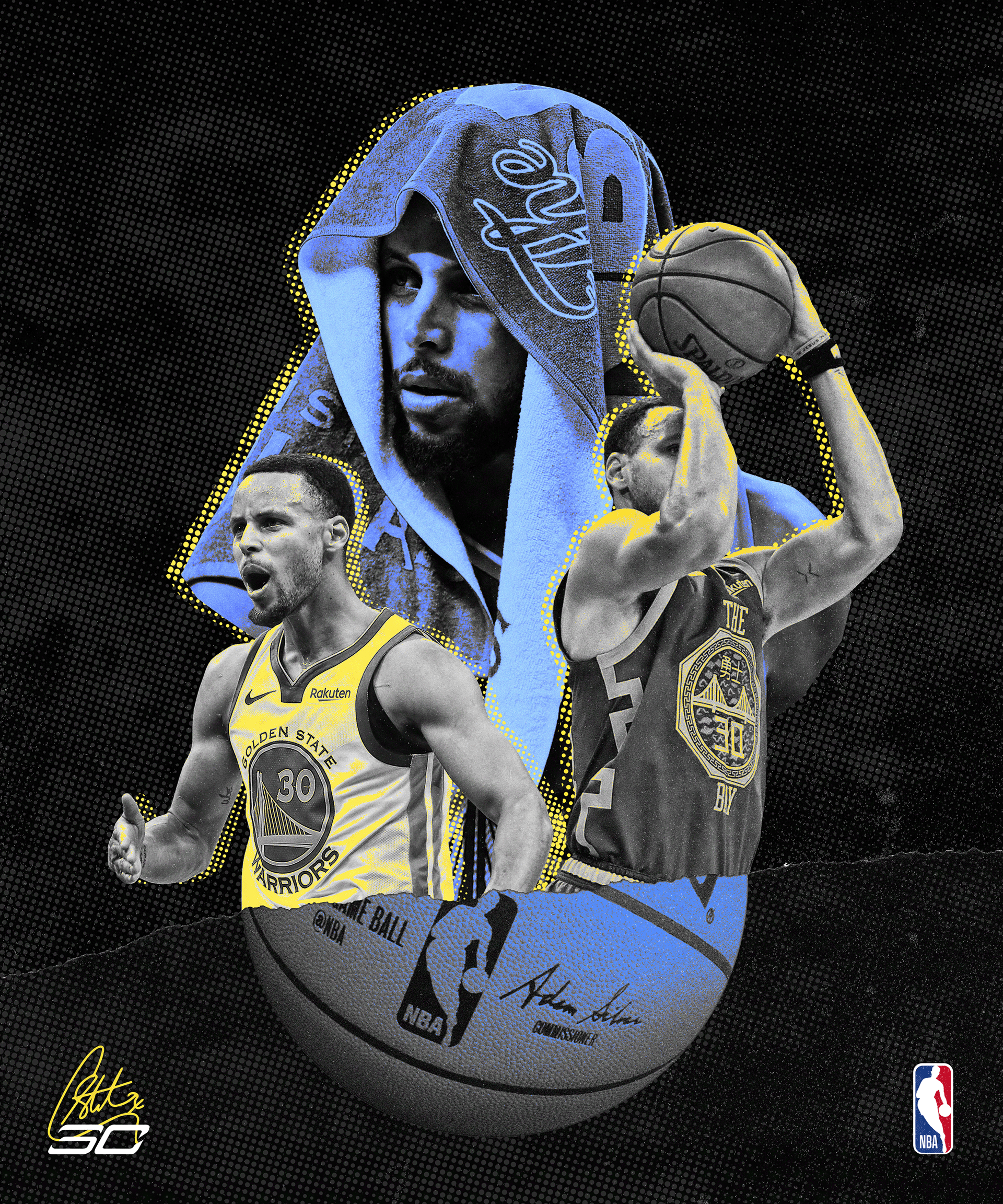 Stephen Curry Back Digital Piece On Behance Stephen Curry Nba Wallpapers Stephen Curry Nba Stephen Curry