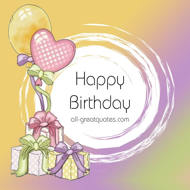 Today Is Your Free Happy Birthday Ecards Greeting: Free Birthday Cards Pastels