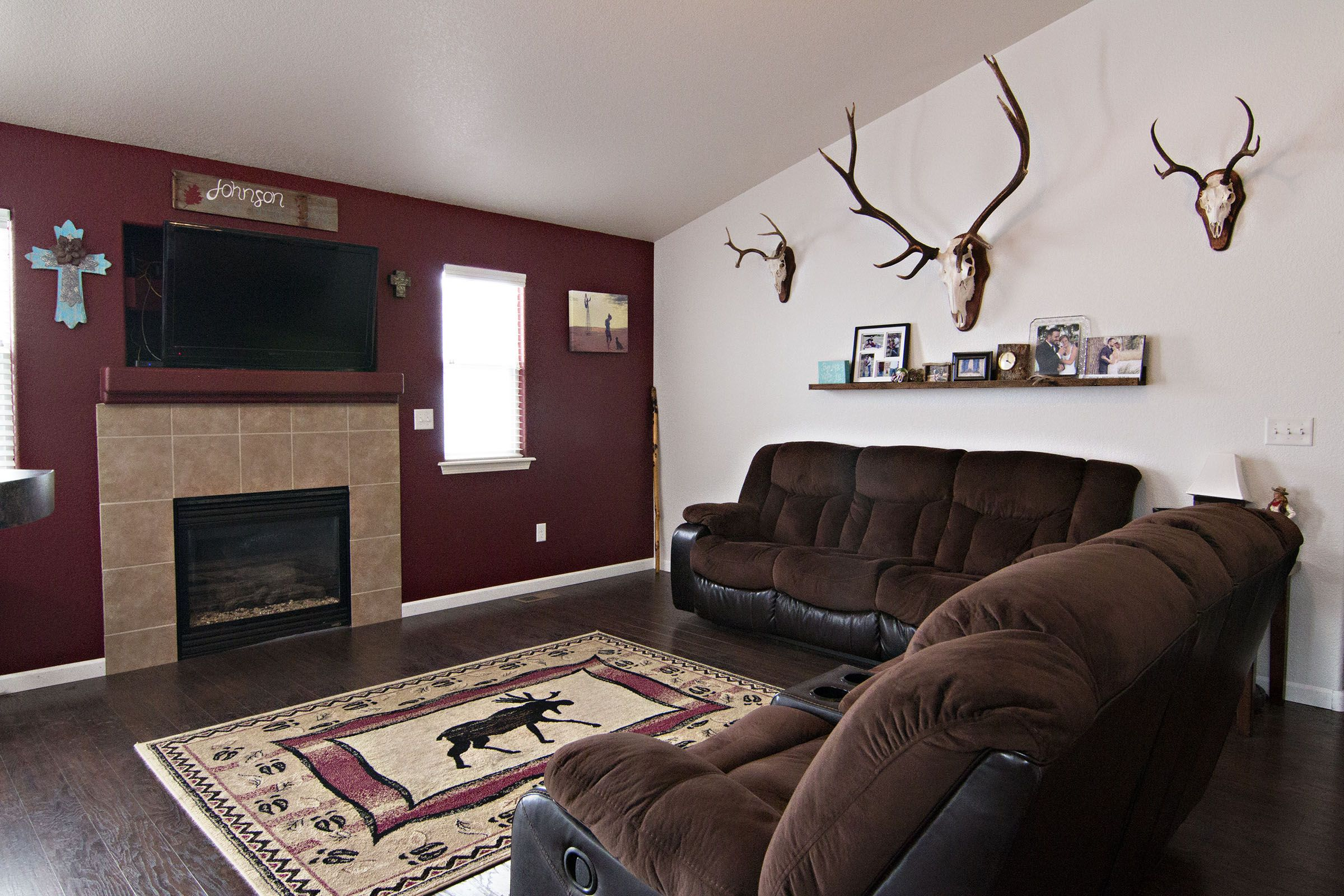 What Do You Think Of The Rustic Theme In The Living Room Of 1215
