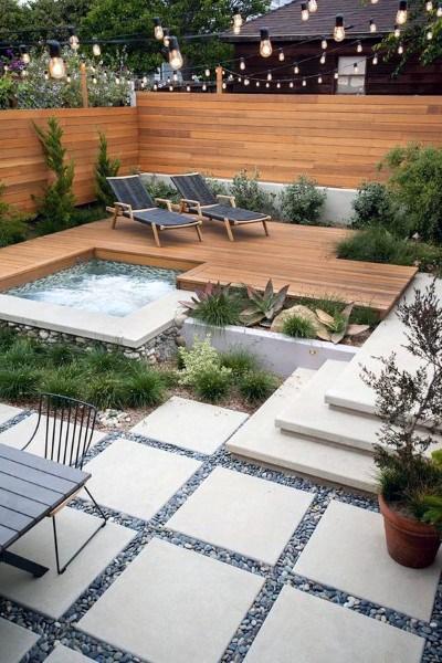 Top 60 Best Backyard Deck Ideas Wood And Composite Decking Designs Modern Backyard Landscaping Backyard Landscaping Designs Modern Backyard