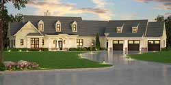 Country House Plan 3 Bedrooms 2 Bath 2830 Sq Ft Plan 24 242