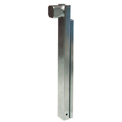 Global Door Controls Brushed Chrome Manual Surface Bolt
