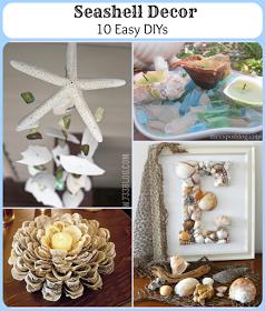 Seashell Decor: 10 Easy DIYs for your Nautical Decor!