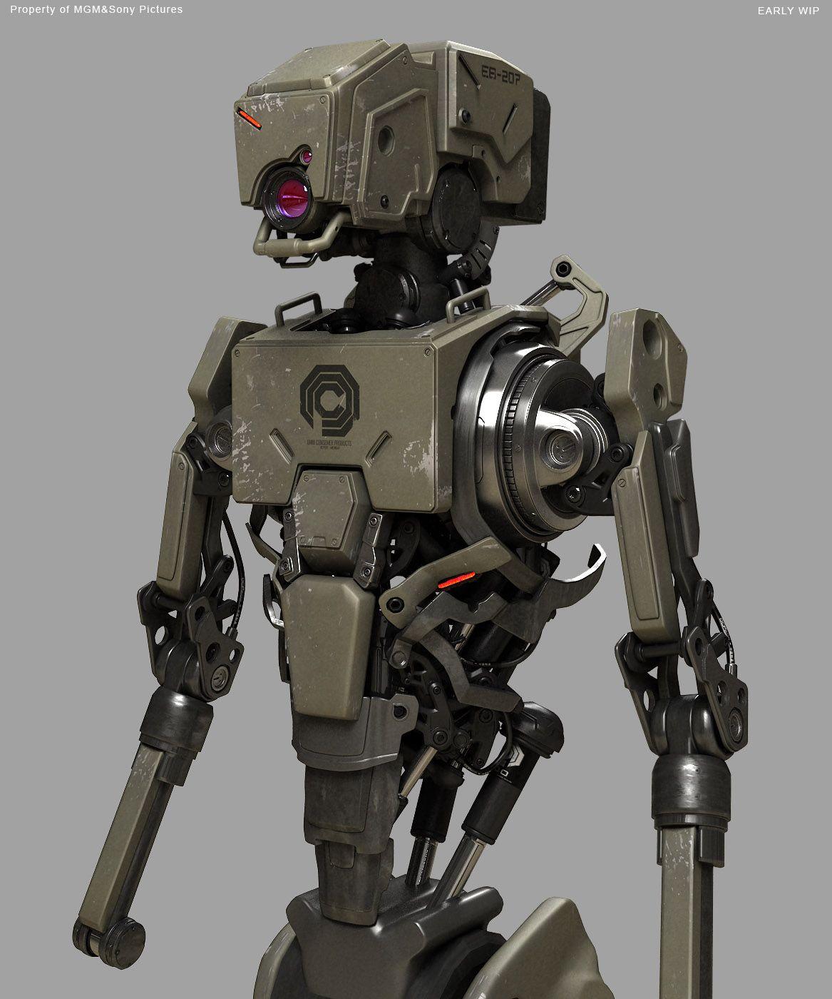 Fausto De Martini Robocop Concept Art