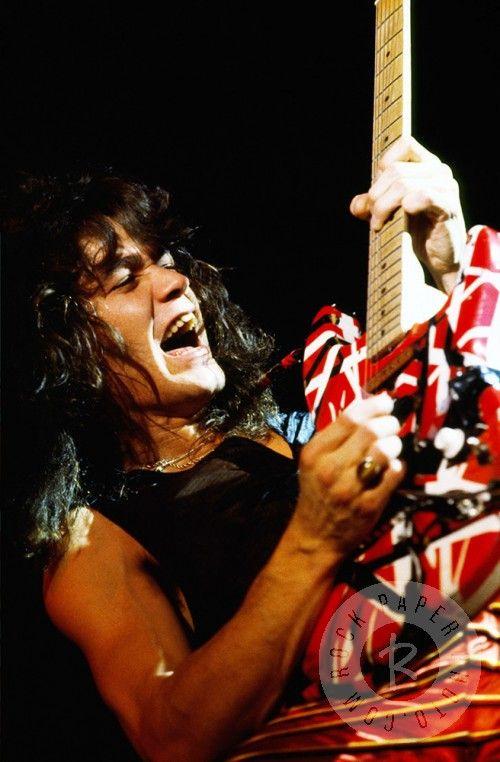 Eddie Van Halen by Dean Simmon www.RockPaperPhoto.com