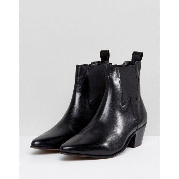 asos cuban heel boots