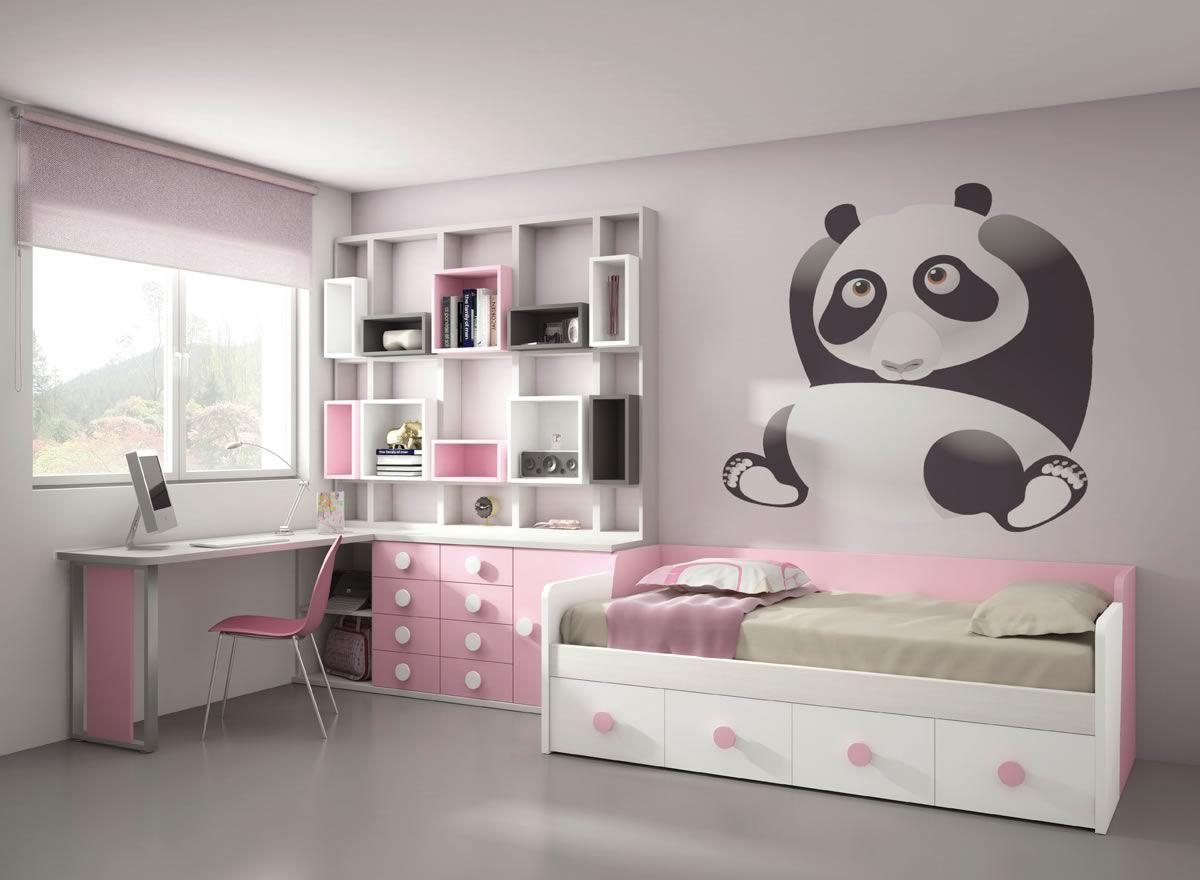 Decorar dormitorios infantiles | cama Isa | Pinterest | Decorar ...