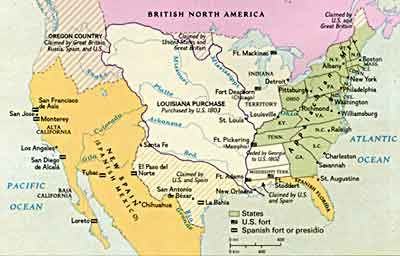 impact of territorial expansion between 1800 Impact of territorial expansion between 1800 and 1850 between 1800 and 1850, the united states was a nation sprawling in all possible ways america experienced a.
