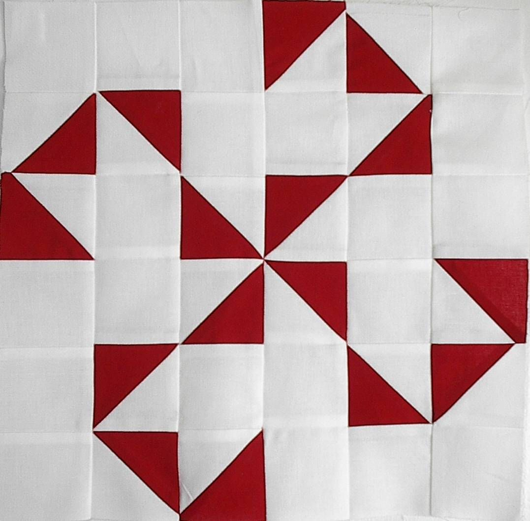 This Oklahoma Twister Quilt Pattern Would Be Very Easy To