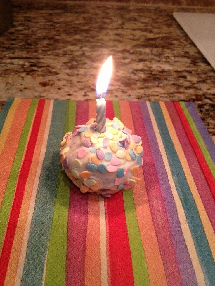 Birthday Cake Pop!