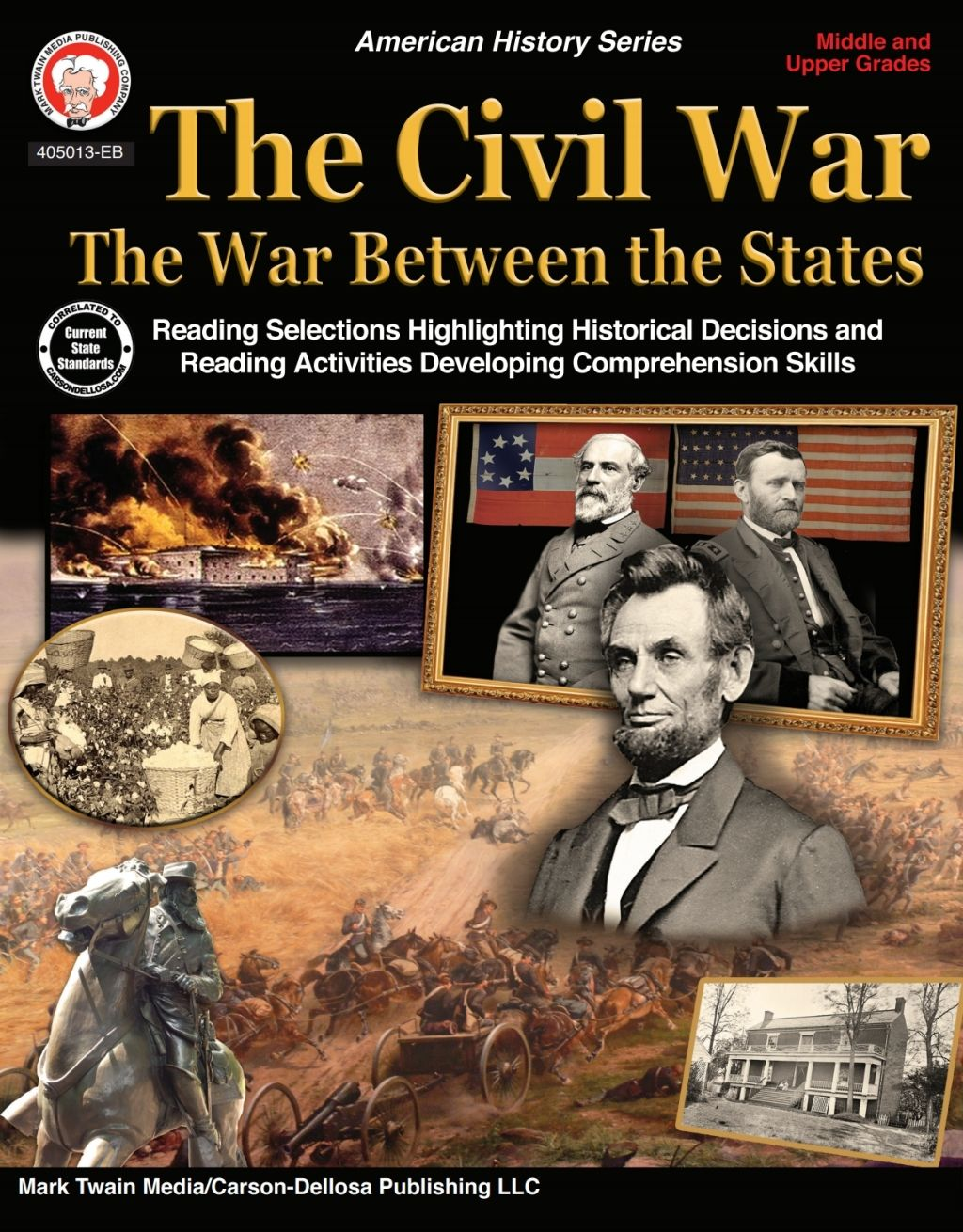 The Civil War The War Between The States Grades 5