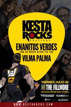 Doblete de Rock en Español @ The Fillmore en Silver Spring - Viernes 26 de Julio 2013