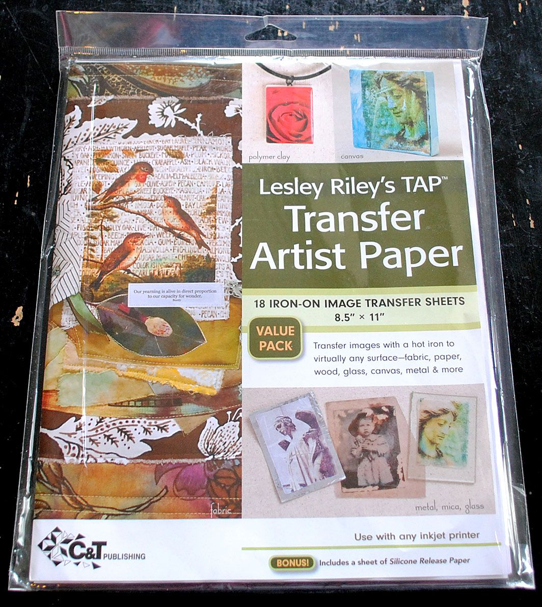 DIY Iron On transfer paper recommended as THE transfer paper to use...via The Graphics Fairy