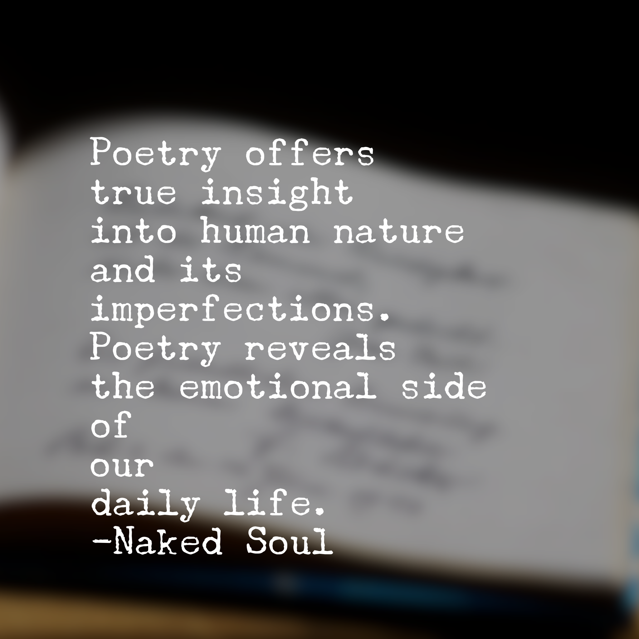 Poetry And Human Nature Lovequotestivationfedailyquotes