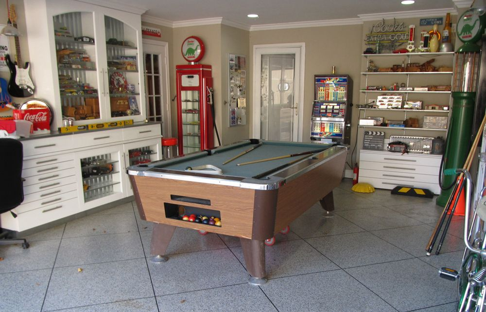 Pool Table In Garage Google Search Wood Shopman Cave Space - Pool table in garage