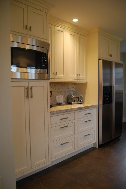 Marvelous 17 Best Images About Kitchen Ideas On Pinterest From Kitchen Cabinets Microwave  Placement